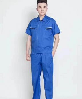 短袖工作服定制生产