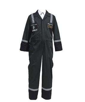 黑色防护工程服定制