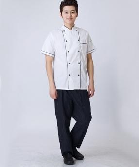 酒店厨师服装定做生产