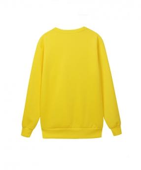 纯色长袖卫衣生产定制